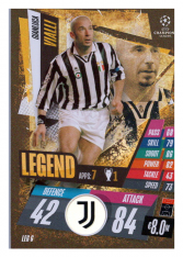 fotbalová kartička Topps Match Attax Champions League Match Attax Legend LEG6 Gianluca Vialli Juventus