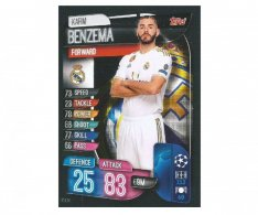 Fotbalová kartička 2019-2020  Topps Champions League Match Attax - Real Madrid CF - Karim Benzema 14