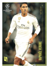 2020 Topps LM Top Talent Rapahel Varane Real Madrid CF