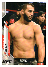 2020 Topps UFC 59 Dominick Reyes - Light Heavyweight