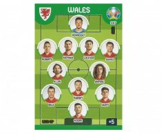 Panini Adrenalyn XL UEFA EURO 2020 Line Up 387 Wales