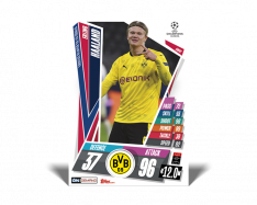 fotbalová kartička Topps Match Attax Champions League Match Attax On Demand 2 Erling Haaland
