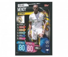 Fotbalová kartička 2019-2020  Topps Champions League Match Attax - Real Madrid CF -  Ferland Mendy 6