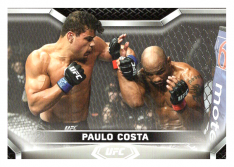 2020 Topps UFC Knockout 15 Paulo Costa - Middleweight