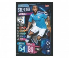 Fotbalová kartička 2019-2020  Topps Champions League Match Attax - Manchester City - Raheem Sterling 11