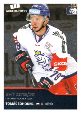 2019-20 Czech Ice Hockey Team  45 Tomáš Zohorna