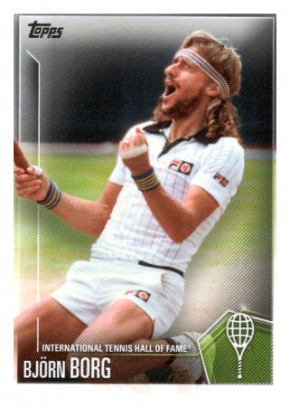2019 Topps Tennis Hall of Fame 28 Bjorn Borg