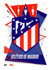fotbalová kartička Topps Match Attax Champions League 2020-21 ATL1 Team Logo Atletico Madrid