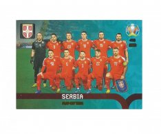 Panini Adrenalyn XL UEFA EURO 2020 Play-off Team 465 Serbia