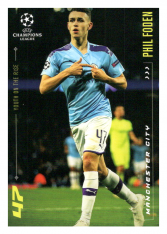 2020 Topps LM Youth of the Rise Phil Foden Manchester City
