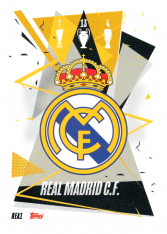 fotbalová kartička Topps Match Attax Champions League 2020-21 REA1 Team Logo Real Madrid CF