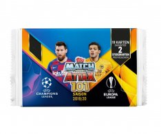 2019-20 Topps Match Attax 101 Champions League Balíček ( 11 karet)