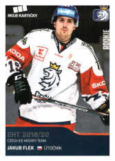 2019-20 Czech Ice Hockey Team 4 Jakub Flek