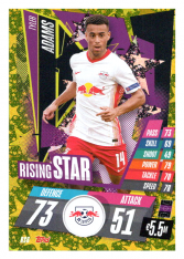 fotbalová kartička Topps Match Attax Champions League 2020-21 Rising Star RS6 Tyler Adams - RB Leipzig