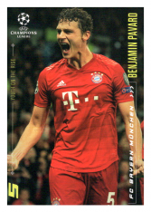 2020 Topps LM Youth of the Rise Benjamin Pavard FC Bayern Munchen