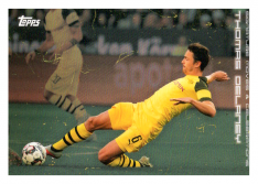 2020 Topps Borussia Dormund Signature Moves & Celebrations 31 Thomas Delaney