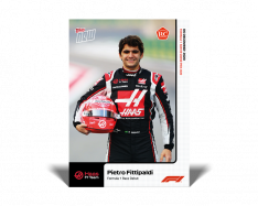 kartička Formule 1 Topps Now 21 Pietro Fittipaldi RC Haas