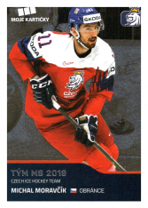 2019-20 Czech Ice Hockey Team  52 Michal Moravčík
