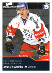 2019-20 Czech Ice Hockey Team  24 Andrej Nestrašil