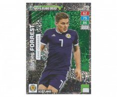 Fotbalová kartička Panini Adrenalyn XL Road to EURO 2020 -  Game Changer - James Forrest - 349