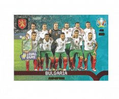 Panini Adrenalyn XL UEFA EURO 2020 Play-off Team 453 Bulgaria