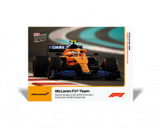 kartička Formule 1 Topps Now 24 McLaren Secures 3rd Place