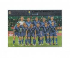 Fotbalová kartička Panini Road To Euro 2020 – Group Winners - Bosna a Hercegovina- UNL8