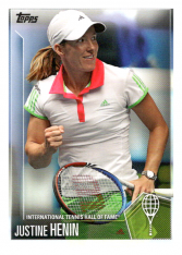 2019 Topps Tennis Hall of Fame 49 Justine Henin