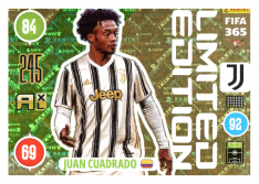 Panini Adrenalyn XL FIFA 365 2021 Limited Edition Joan Cuadrado Juventus