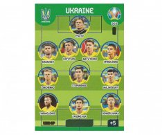 Panini Adrenalyn XL UEFA EURO 2020 Line Up 369 Ukraine
