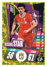 fotbalová kartička Topps Match Attax Champions League 2020-21 Rising Star RS5 Curtis Jones - Liverpool