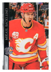2020-21 UD Series One 26 Mikael Backlund - Calgary Flames