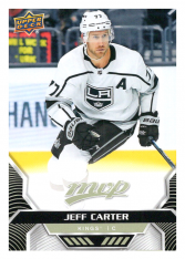 2020-21 UD MVP 153 Jeff Carter - Los Angeles Kings