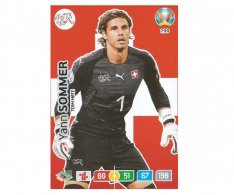 Panini Adrenalyn XL UEFA EURO 2020 Team mate 299 Yann Sommer Switzerland