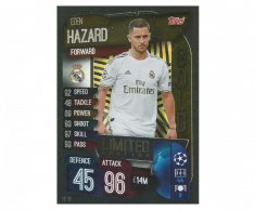 Fotbalová kartička 2019-2020 Topps Match Attax Champions League Limited Edition GOLD Eden Hazard  LE10