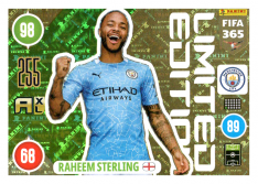 Panini Adrenalyn XL FIFA 365 2021 Limited Edition Rahem Sterling Manchester City