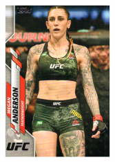 2020 Topps UFC 3 Megan Anderson - Featherweight