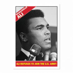 Sběratelská Kartička 2021 Topps MUHAMMAD ALI - The People's Champ 15. Cassius Clay Jr.