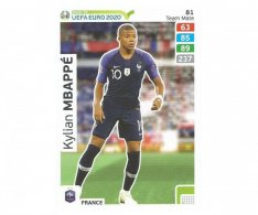 Fotbalová kartička Panini Adrenalyn XL Road To Euro 2020 – Team Mate Kylian Mbappe 81