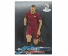 Fotbalová kartička Topps Chrome 2017-18 Champions League 86 Edin Džeko – AS Roma