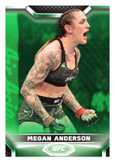 2020 Topps UFC Knockout 16 Megan Anderson - Featherweight /88