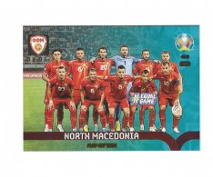 Panini Adrenalyn XL UEFA EURO 2020 Play-off Team 460 North Macedonia