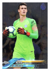 2018-19 Topps Chrome Premier League 54 Kepa Chelsea FC