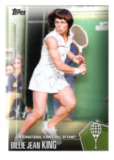 2019 Topps Tennis Hall of Fame 30 Billie Jean King