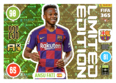 Panini Adrenalyn XL FIFA 365 2021 Limited Edition Ansu Fati FC Barcelona