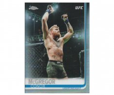 2019 Topps UFC Chrome 93 Conor McGregor Refractor