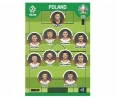 Panini Adrenalyn XL UEFA EURO 2020 Line Up 261 Poland