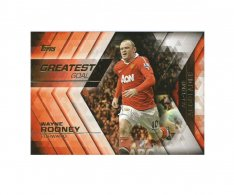 2015-16 Topps Gold Premier League AA-20 Wayne Rooney - Manchester United