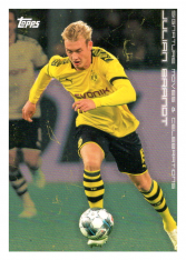 2020 Topps Borussia Dormund Signature Moves & Celebrations 33 Julian Brandt