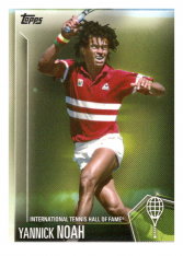 2019 Topps Tennis Hall of Fame 41 Yannick Noah